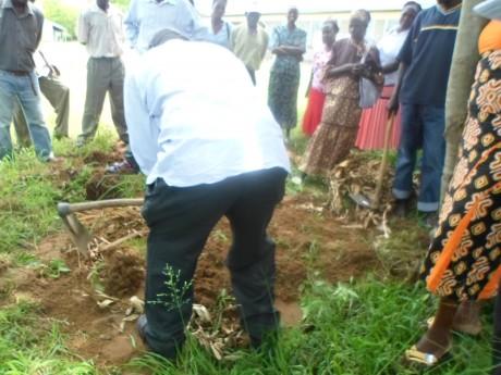 Preparation of Compost manure-1