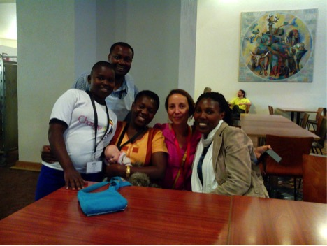 Members of the East Africa Delegation