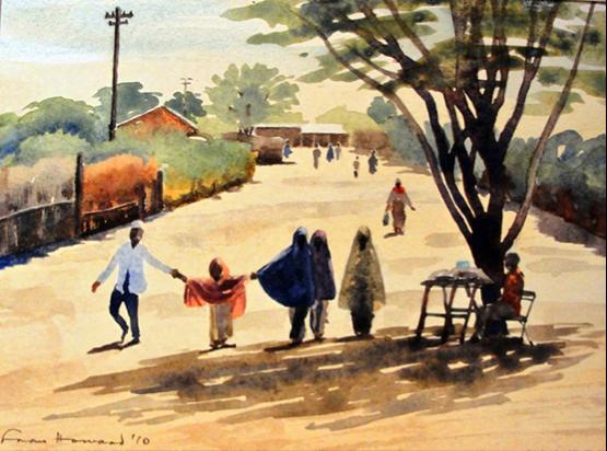 Fran watercolour
