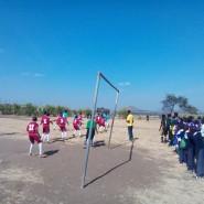 Boys in action in Kisongo