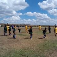 Lemuguru Eton 1 vs Kisongo Caldicott 1 girls in action