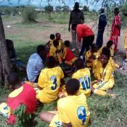 Lemuguru Eton 1 girls during half time