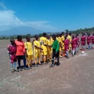 Hand shake Lemuguru Eton 1 vs Lovilukunyi Cothill 1 Girls