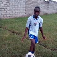 Practicing football skills