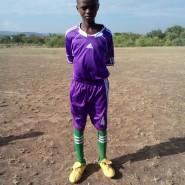 Tajiri Langui, man of the match defender from Lovilukunyi Cothill 1