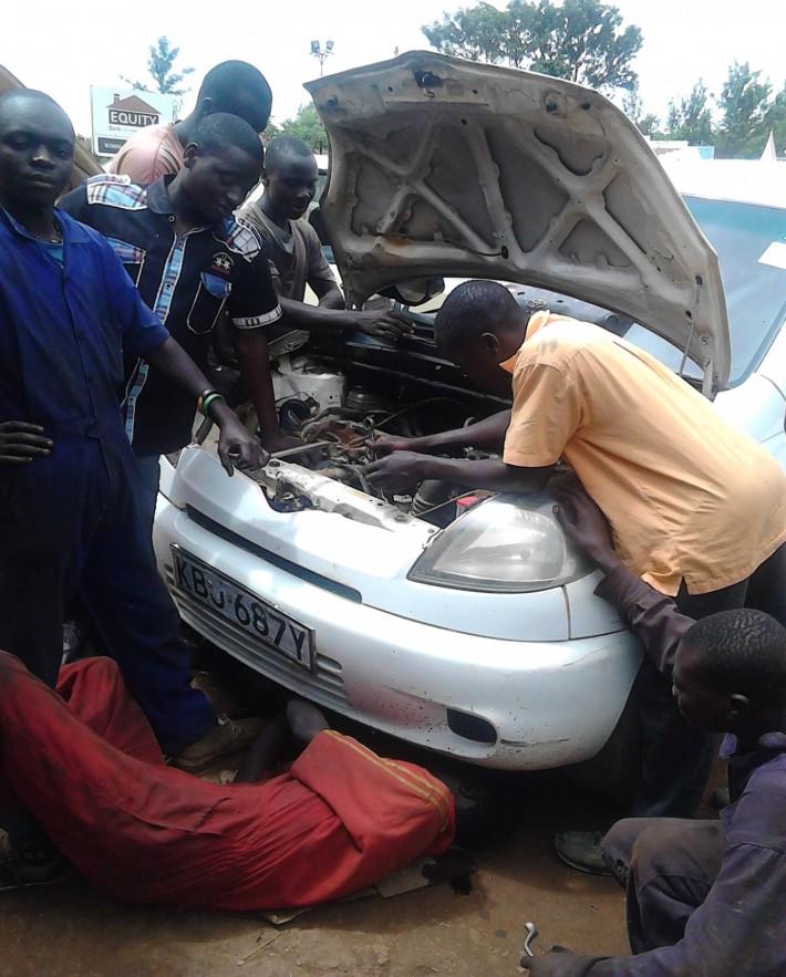 Trainee Car Mechanics in Kenya