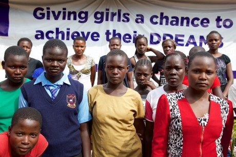 Women involved in the DREAMS project.