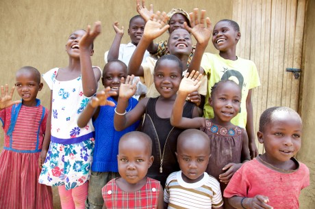 Picture 4. Children highlighting their resilience to jiggers