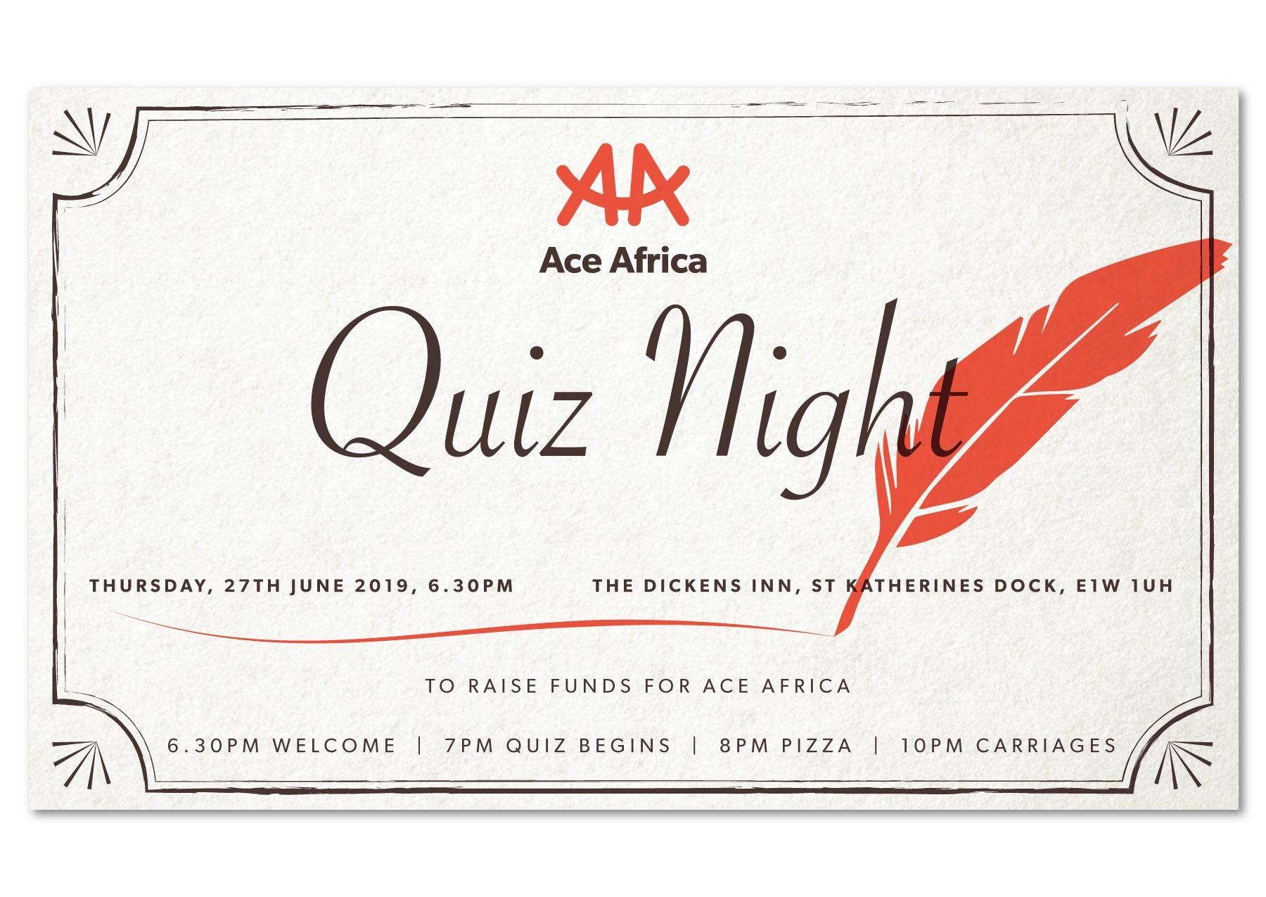 Ace Africa Quiz Night 2019